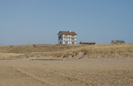 One of the most photographed buildings from the beach.