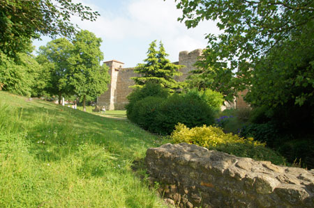 Colchester Castle and park