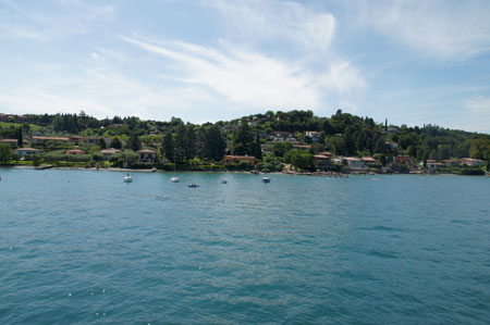 Boat trip on Lake Garda Gardone to Sirmione.